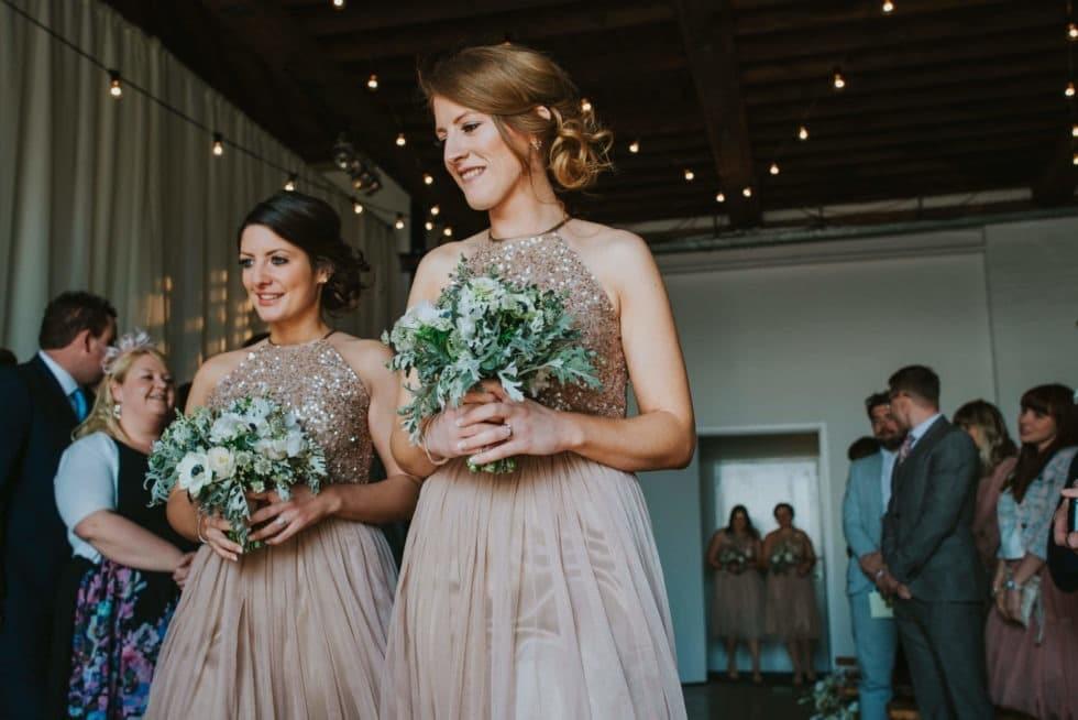 Trinity-buoy-wharf-bridesmaids-bouquets